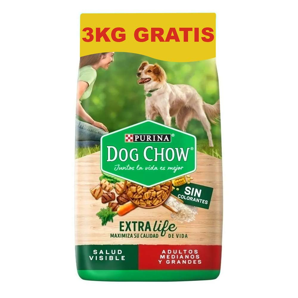 Dog Chaw Adulto Razas Medianas Grandes MAS 3